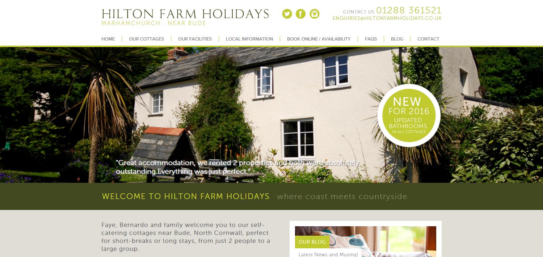 hilton holidays self catering cottages near bude cornwall rh hiltonfarmholidays co uk