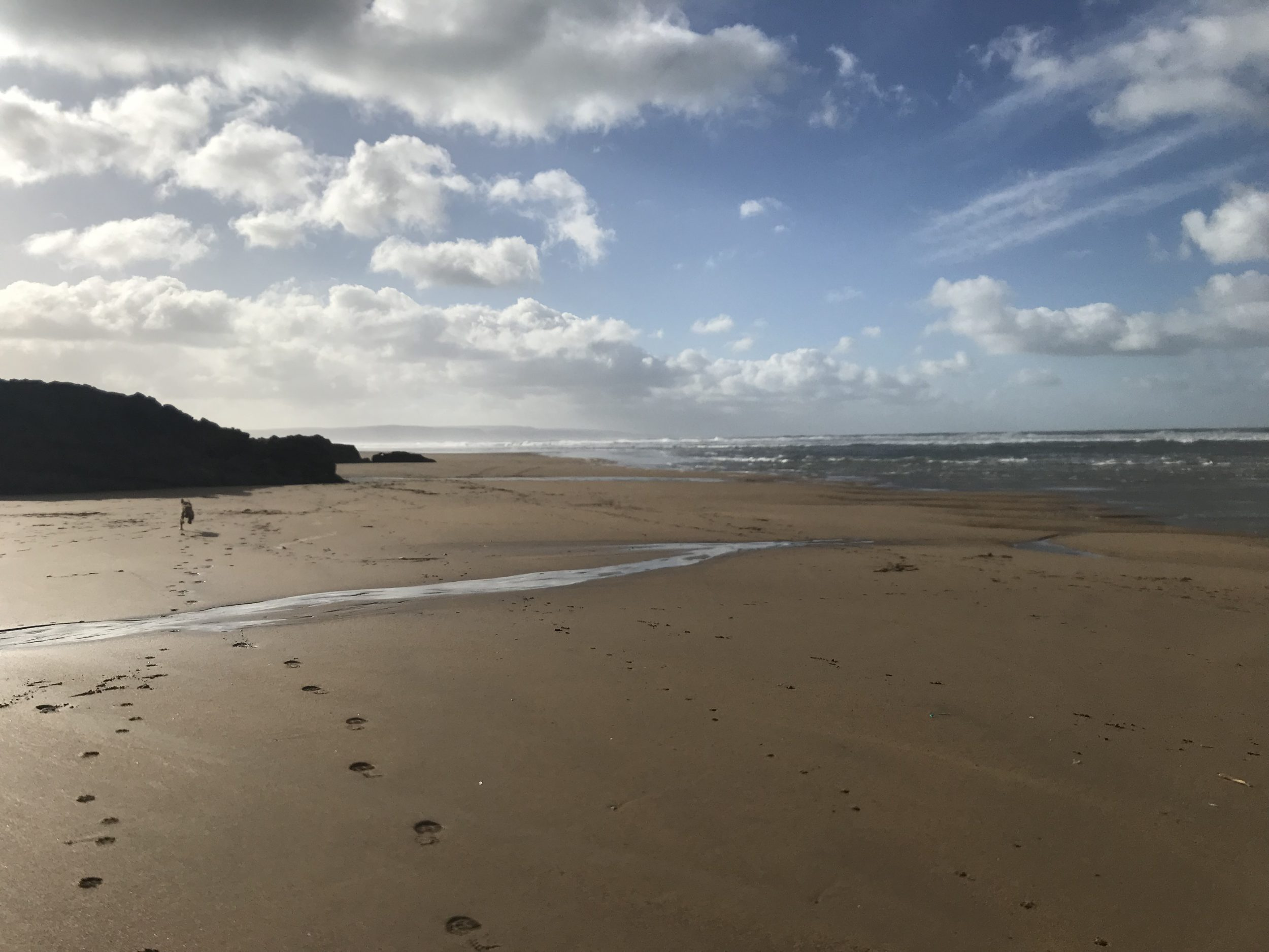 Bude's unspoilt beaches.