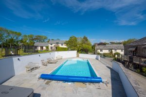 Heated outdoor swimming pool is available for guests from 3 April