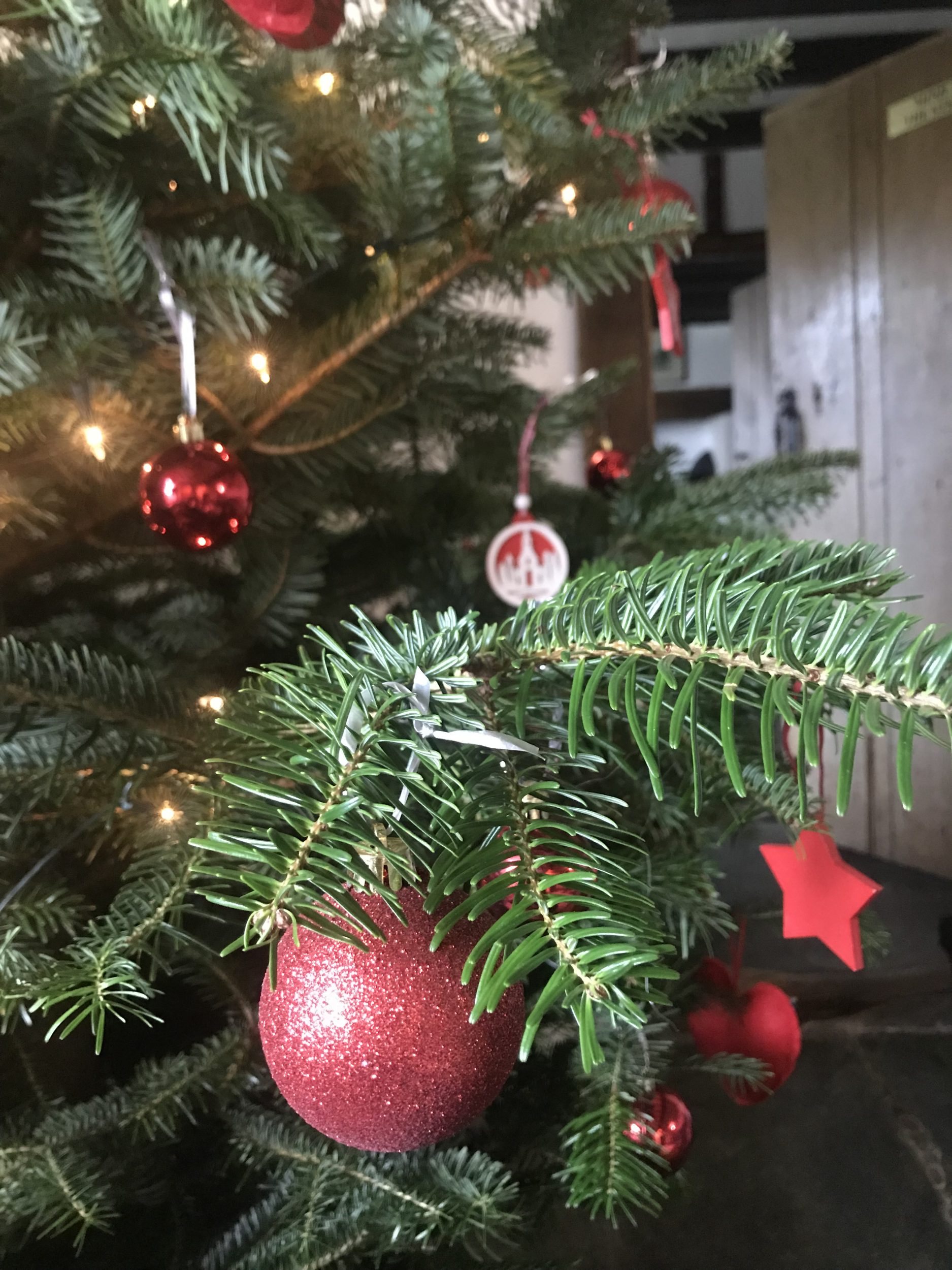 Christmas decorations in the Farmhouse